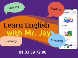 Apprenez l'anglais facilement avec Mr. Jay !