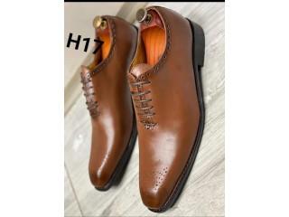 Chaussure soulier en cuir véritable