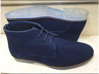 Chaussure boots en daim