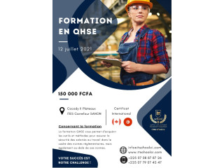 Formation QHSE avec certificat international