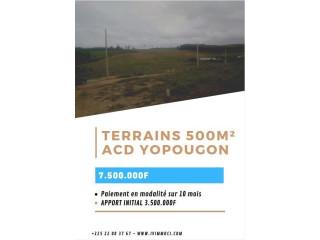 Vente Terrains 500 - Jacqueville