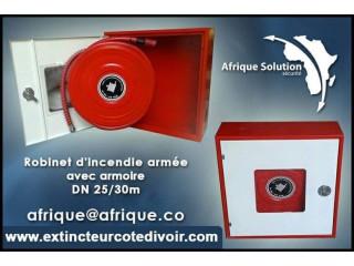 Côte d'Ivoire Robinet incendie Armée RIA Abidjan