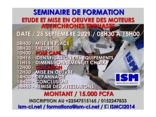 SÉMINAIRE DE FORMATION SUR LETUDE DES MOTEURS ASYNCHRONES TRIPHASES ET LEU