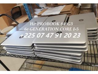 Hp probook 840 core i5-6e Generation