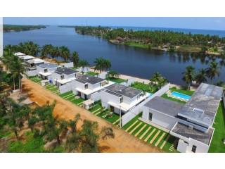 ASSINIE-ASSOUNDÉ bordure de lagune vente belle villa 4pièces