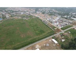 Bingerville akandjé bordure de voie principale vente terrain 4ha,ACD