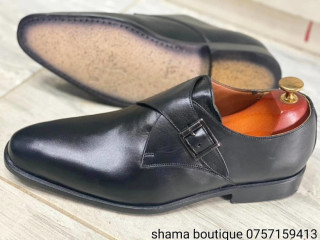 Chaussure mocassin en cuir