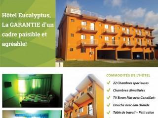 Hôtel Eucalyptus Anan Bingerville Tout confort en promotion 15000f la nuitée cel 88606660