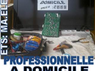 RÉPARATION PROFESSIONNELLE DE TV LED A DOMICILE