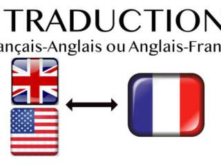 TRADUCTION ANGLAIS-FRANCAIS