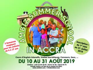 AMBIZ SUMMER SCHOOL IN ACCRA 2019