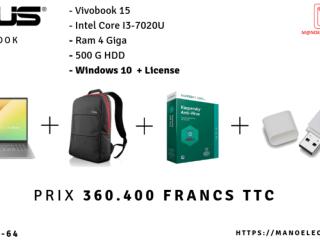 PC ASUS VIVOBOOK15+SAC+ANTIVIRUS+CLE USB