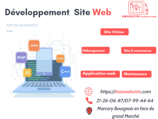 DEVELOPPEMENT SITE WEB