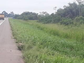 L'autoroute du Nord pk40 en bordure de voie vente parcelle brute 3ha