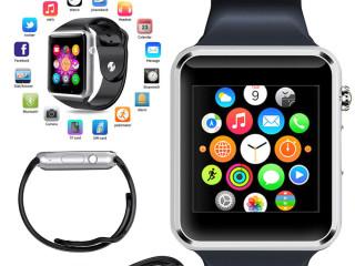 Montre Connectée A1 - Ecran Tactile - SIM - Bluetooth - Bleu/Gris/Dore/blanc