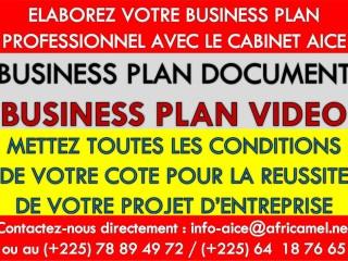 Elaborez votre business plan professionnel avec le Cabinet AICE