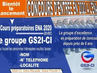 COUR DE PRÉPARATION ENA 2020 AVEC LE GS2I-CI