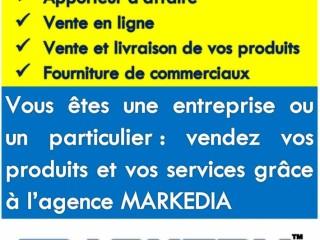 Votre service commercial privé MARKEDIA