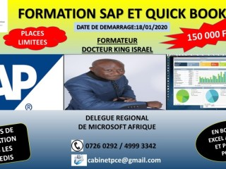 Formation SAP ET QUICKBOOKEN BONUS POWER POINT et EXCEL
