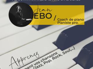 Cours de piano à domicile pour ados à partir de 12ans et pour adultes