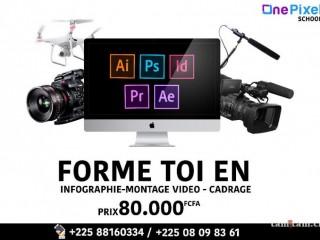 FORMATION EN INFOGRAPHIE ET MONTAGE VIDEO