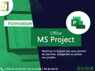 FORMATION OFFICE MS PROJECT