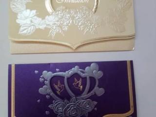 Confection de carte mariage et carte visite