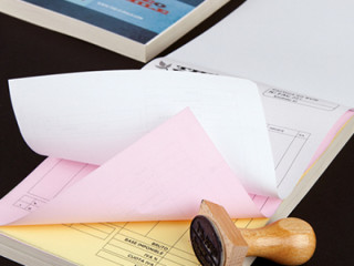 Confection de Bloc notes et carnet de reçu personnalisés