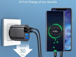 Multi-chargeur / Rechargez 4 appareils simultanément